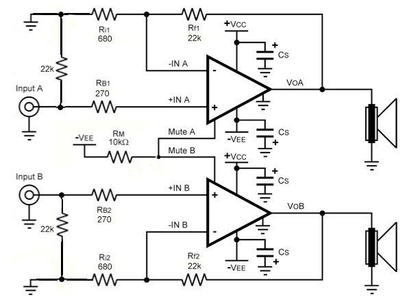 lm4780 chip amp