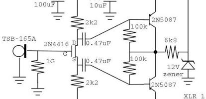 Basic FET Circuits for Mics